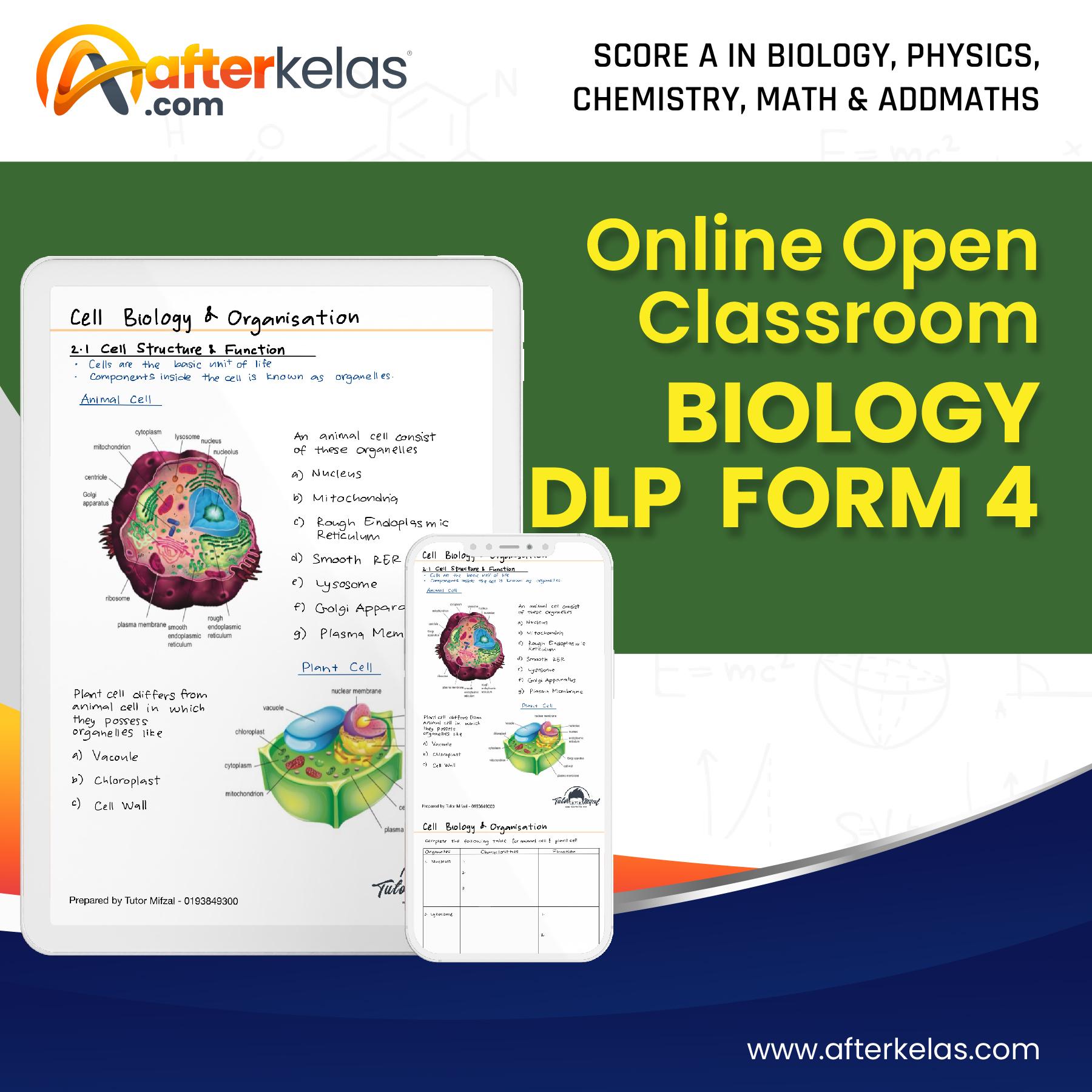 F4 biology dlp