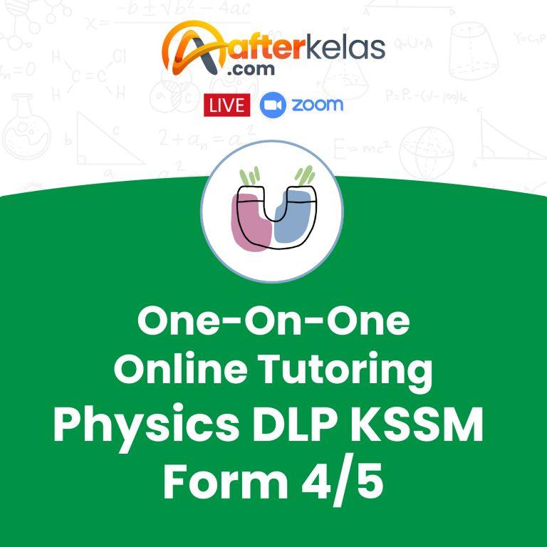 One On One Online Tutoring – Tutor Mifzal – Ikmal Arfizal – Physics